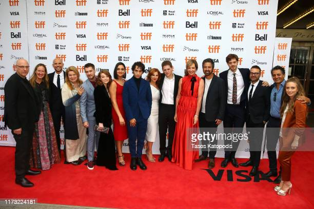 Cast and crew attend the Bad Education premiere during the 2019 Toronto International Film Festival at Princess of Wales Theatre on September 08 2019...