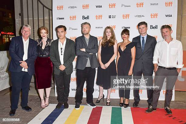 Cast and crew attend the 'Black Mirror' premiere during the 2016 Toronto International Film Festival at the Ryerson University Theatre on September...