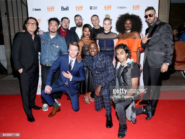 Cast and crew attend the 'Bodied' premiere during the 2017 Toronto International Film Festival at Ryerson Theatre on September 7 2017 in Toronto...
