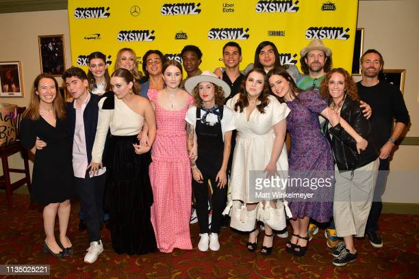 Cast and crew attend the Booksmart Premiere 2019 SXSW Conference and Festivals at Paramount Theatre on March 10 2019 in Austin Texas