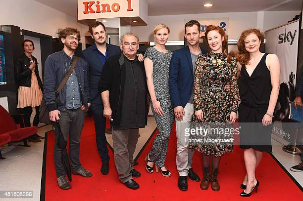 Cast and crew attend the 'Die Frau aus dem Moor' Premiere as part of Filmfest Muenchen 2014 on June 30, 2014 in Munich, Germany.