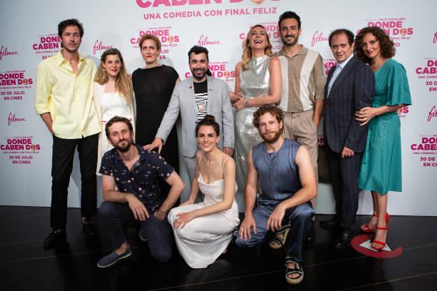 """ESP: """"Donde Caben Dos"""" Premiere In Madrid"""