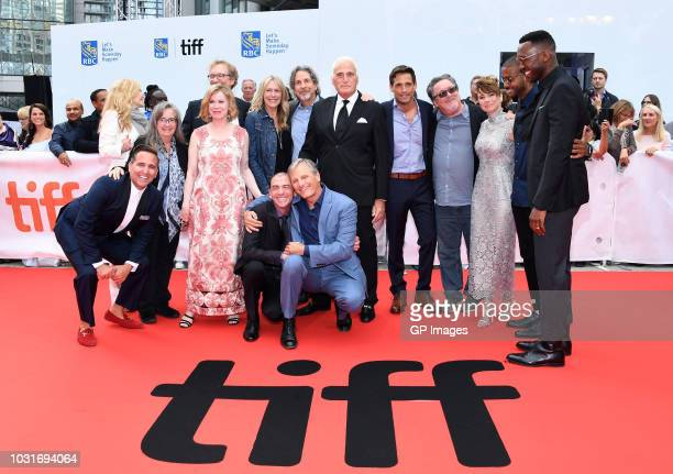 Cast and crew attend the Green Book premiere during 2018 Toronto International Film Festival at Roy Thomson Hall on September 11 2018 in Toronto...