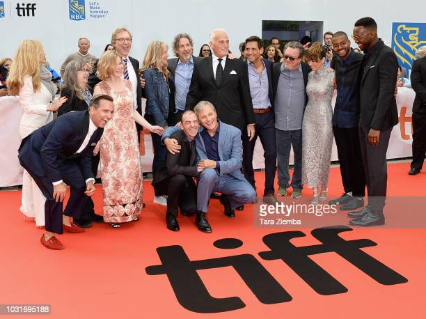 Cast and crew attend the 'Green Book' premiere during 2018 Toronto International Film Festival at Roy Thomson Hall on September 11 2018 in Toronto...