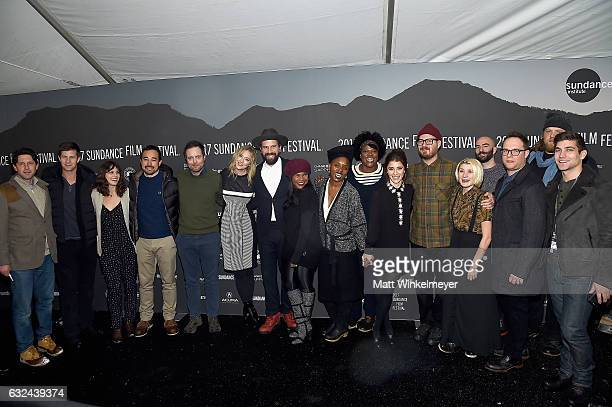 Cast and crew attend the Lemon Premiere on day 4 of the 2017 Sundance Film Festival at Library Center Theater on January 22 2017 in Park City Utah