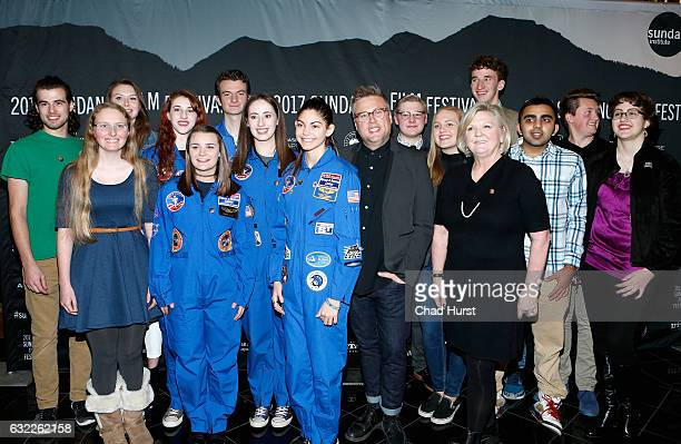 Cast and crew attend 'The Mars Generation' Premiere on day 2 of the 2017 Sundance Film Festival at Rose Wagner Performing Arts Center on January 20...