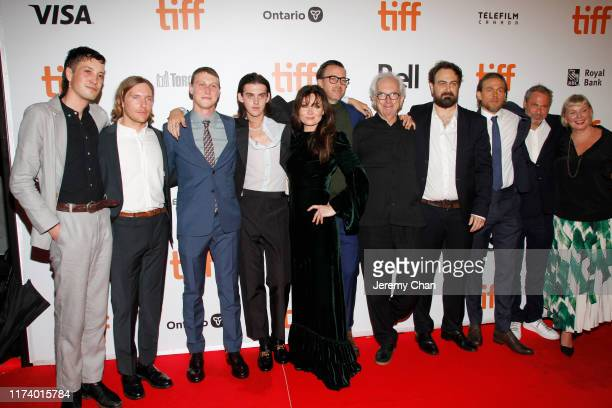 """Cast and crew attend the """"True History Of Kelly Gang"""" premiere during the 2019 Toronto International Film Festival at Roy Thomson Hall on September..."""