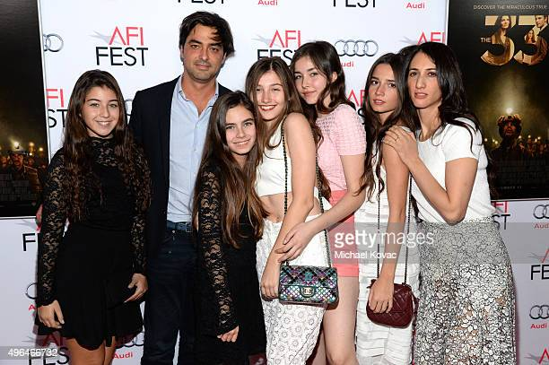 Cast and crew from the film Mustang attend the Centerpiece Gala Premiere of Alcon Entertainment's The 33 during AFI FEST 2015 presented by Audi at...