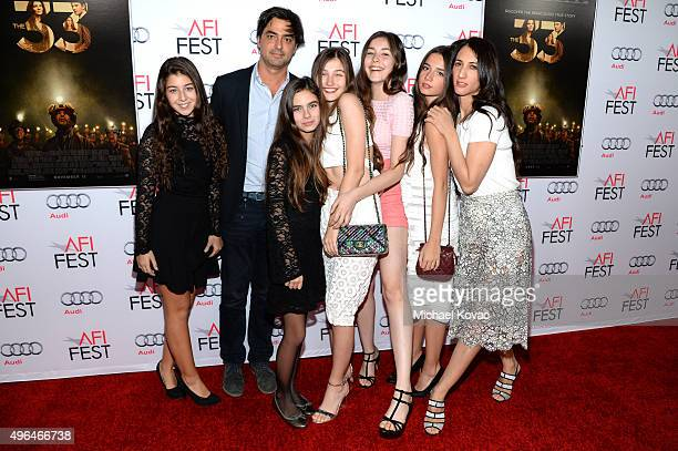 Cast and crew from the film 'Mustang' attend the Centerpiece Gala Premiere of Alcon Entertainment's 'The 33' during AFI FEST 2015 presented by Audi...