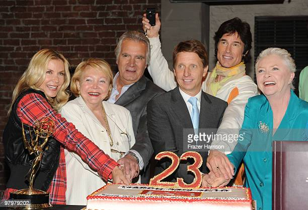 Cast and crew Katherine Kelly Lang Lee Phillip Bell exec producer John McCook actor Bradley Bell exec producer Ron Moss actor Susan Flannery actress...
