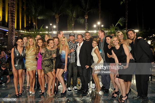Cast and crew members Stacie Hall Kristin Cavallari Audrina Patridge Lauren Conrad Executive Producer Sara Mast Stephanie Pratt show...