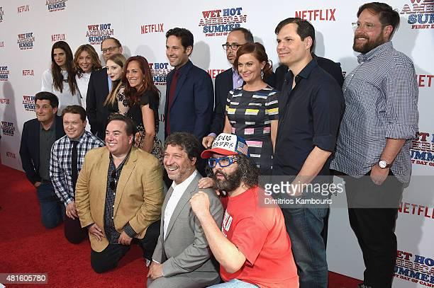 Cast and Crew members TOP ROW Lake Bell Nina Hellman David Hyde Pierce Allie Stamler Marisa Ryan Paul Rudd David Wain Amy Poehler Michael Ian Black...