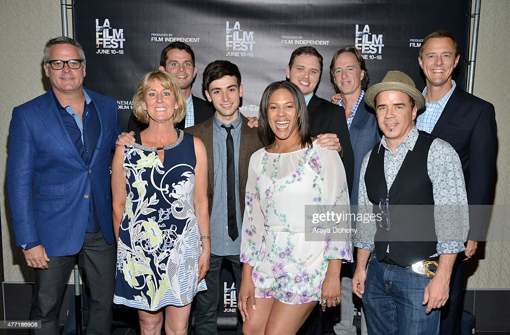 Cast and crew of 'A New High' attend the 'A New High' and 'Hotel 22' screenings during the 2015 Los Angeles Film Festival at Regal Cinemas L.A. Live on June 14, 2015 in Los Angeles, California.