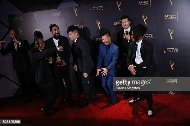 Cast And Crew Of Americas Best Dance Winner Choreography Pose In The 2016 Creative