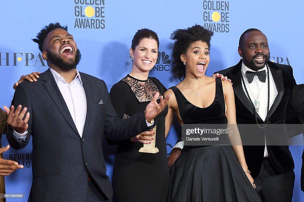 74th Annual Golden Globe Awards - Press Room : Nachrichtenfoto