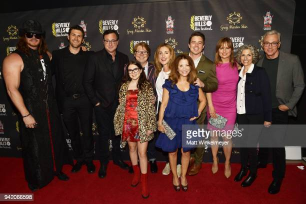 Cast and Crew of Benjamin attend the 18th Annual International Beverly Hills Film Festival Opening Night Gala Premiere of 'Benjamin' at TCL Chinese 6...