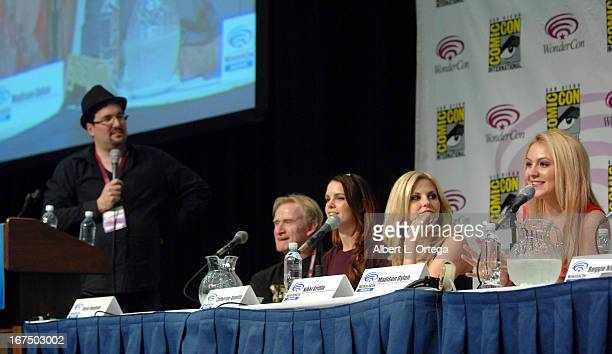 Cast and crew of Cinemax's Femme Fatales participate in WonderCon Anaheim 2013 Day 1 held at Anaheim Convention Center on March 29 2013 in Anaheim...