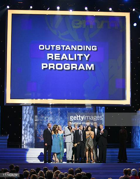 """Cast and crew of """"Extreme Makeover: Home Edition,"""" winner Oustanding Reality Program"""