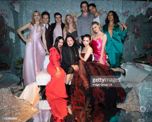 PERFECTIONISTS Cast and crew of Freeform's new original series 'Pretty Little Liars The Perfectionists' celebrated the series premiere with a...