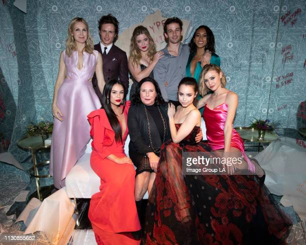 PERFECTIONISTS Cast and crew of Freeform's new original series Pretty Little Liars The Perfectionists celebrated the series premiere with a screening...