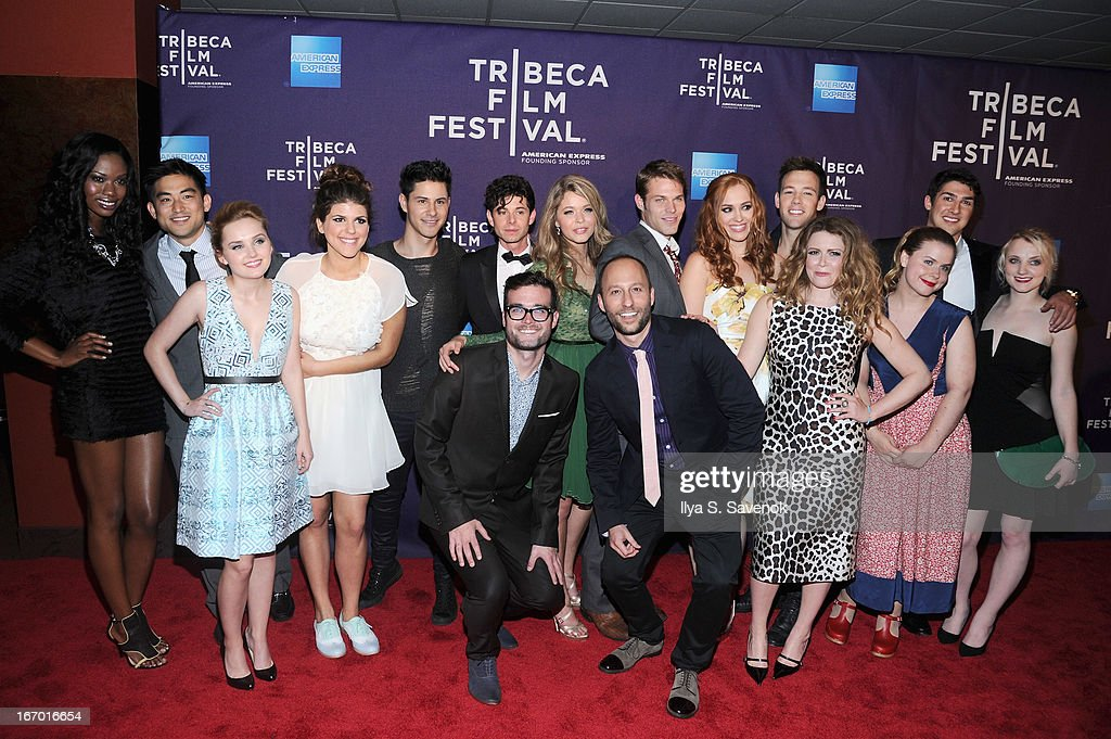 Cast and crew of 'G.B.F.' attend the 'G.B.F.' world premiere during the 2013 Tribeca Film Festival on April 19, 2013 in New York City.