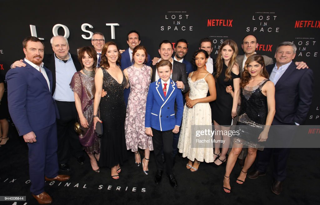 Netflix's 'Lost In Space' Los Angeles Premiere : News Photo