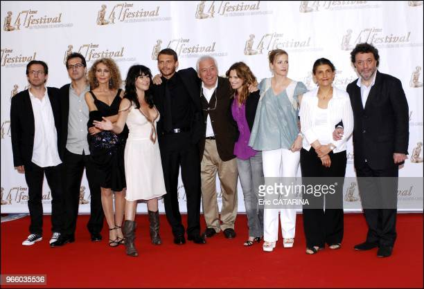 Cast and crew of 'Mystere' including actors Marisa Berenson Lio Arnaud Binard Toinette Laquiere and Babsie Steger