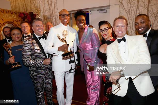 Cast and crew of Outstanding RealityCompetition Program winners for 'RuPaul's Drag Race' attend IMDb LIVE After The Emmys 2018 on September 17 2018...