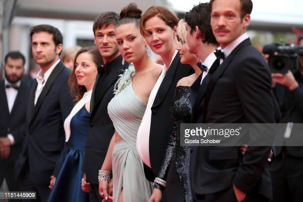 "Cast and crew of Sibyl attend the screening of ""Sibyl"" during the 72nd annual Cannes Film Festival on May 24, 2019 in Cannes, France."