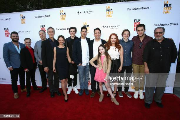 Cast and crew of 'The Bachelors' attend the screening of the film during the 2017 Los Angeles Film Festival at Arclight Cinemas Culver City on June...