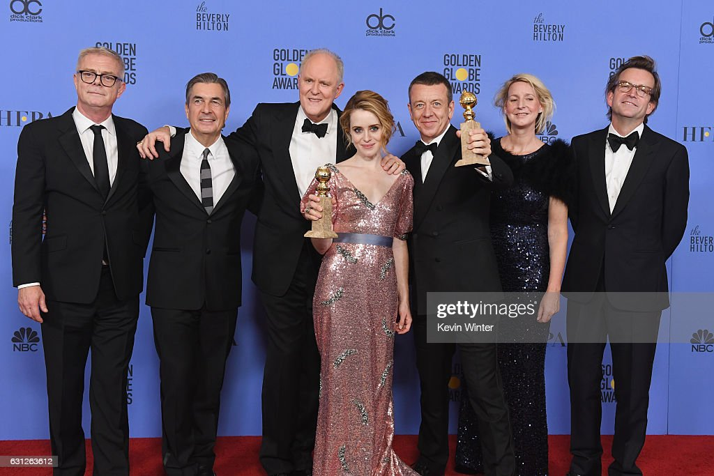 74th Annual Golden Globe Awards - Press Room : News Photo