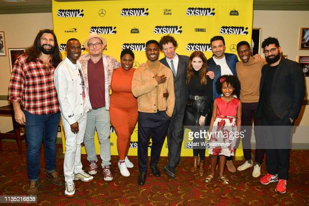 Cast and crew of The Day Shall Come attend the The Day Shall Come Premiere 2019 SXSW Conference and Festivals at Paramount Theatre on March 11 2019...