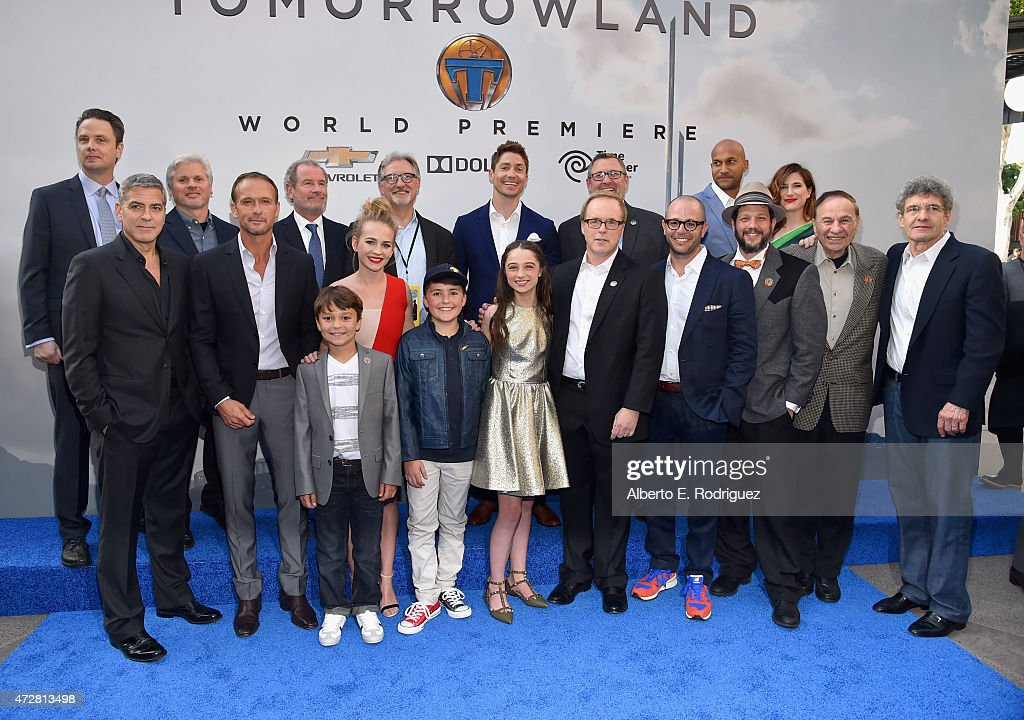 The World Premiere Of Disney's 'Tomorrowland' At Disneyland, Anaheim, CA - Red Carpet : News Photo
