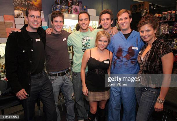 Cast and Crew of Unrest Chris Billet Jay Jablonski Joshua Alba Corri English Scot Davis and Marisa Petroro