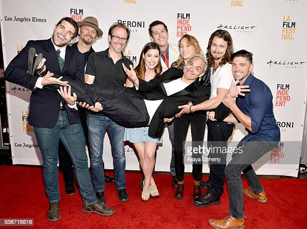 Cast and crew of 'Villisca' attend the premiere of 'Villisca' during the 2016 Los Angeles Film Festival at Arclight Cinemas Culver City on June 7...