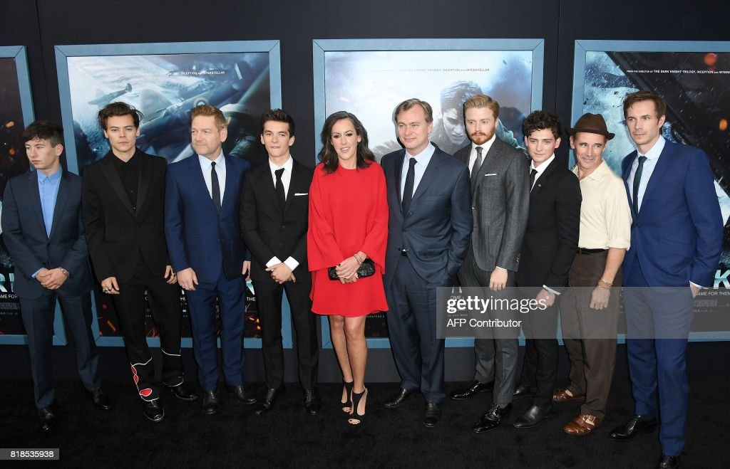 Cast and crew of Warner Bros. Pictures 'DUNKIRK' attend the Warner Bros. Pictures 'DUNKIRK' US premiere at AMC Loews Lincoln Square on July 18, 2017 in New York City. /