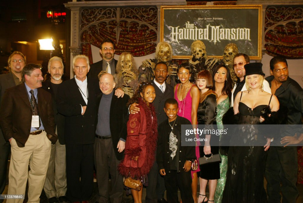 """The Haunted Mansion"" World Premiere - Red Carpet"