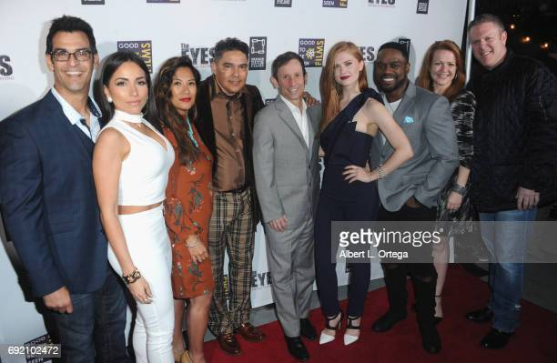 Cast and crew Spero Stamboulis Ana Isabelle Emelie Rodelas Nick Turturro Robbie Bryan Megan West Greg Davis Jr and Dan Wulkan arrive for the Premiere...