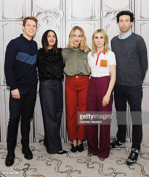 Cast and producer of the show 'Girls' Jake Lacy, Jenni Konner, Jemima Kirke, Zosia Mamet and Alex Karpovsky discuss season 5 during AOL Build Speaker...