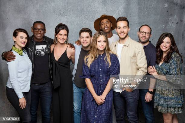 Cast and writers of 'Supergirl' are photographed in the LA Times photo studio at ComicCon 2017 in San Diego CA on July 22 2017 CREDIT MUST READ Jay L...