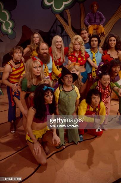 Cast appearing in the Walt Disney Television via Getty Images tv movie 'Li'l Abner'.
