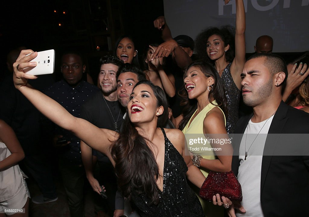 Cast attends Hulu's East Los High Season 4 Premiere at HYDE