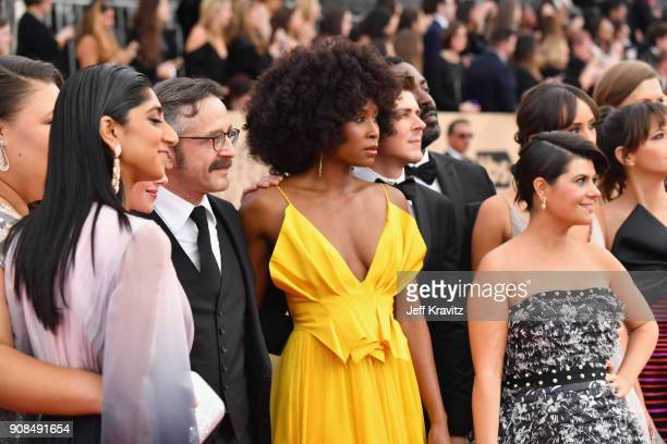 GLOW cast attends the 24th Annual Screen Actors Guild Awards at The Shrine Auditorium on January 21 2018 in Los Angeles California