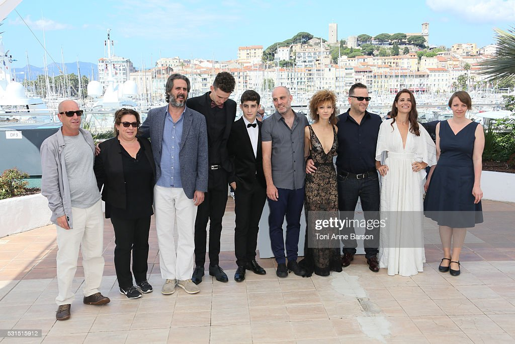 Cast attends the 'Beyond The Mountains And Hills' Photocall