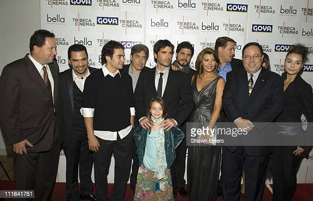 """Cast """"Bella"""" arrives at the """"Bella"""" New York Premiere on October 25, 2007 at Tribeca Cinemas in New York City."""