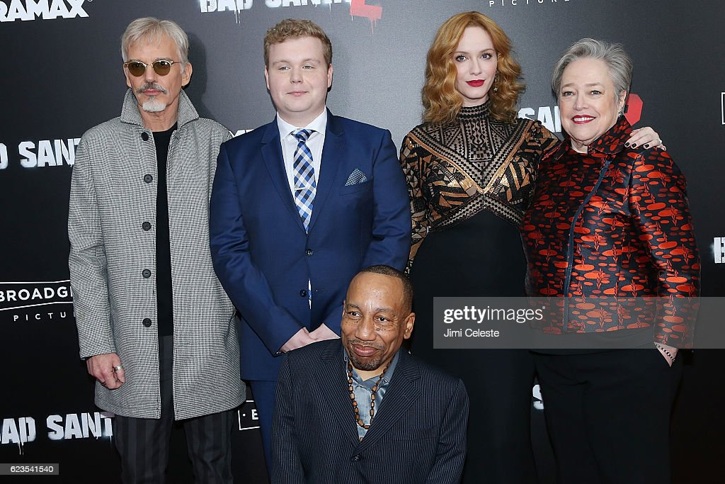 """New York Premiere of Broad Green Pictures and Miramax's """"Bad Santa 2"""""""