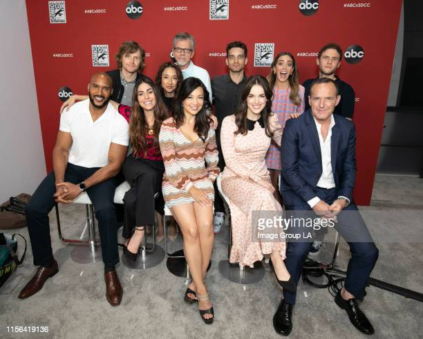 S AGENTS OF SHIELD MARVEL'S AGENTS OF SHIELD cast Clark Gregg MingNa Wen Chloe Bennet Iain De Caestecker Elizabeth Henstridge Henry Simmons Natalia...