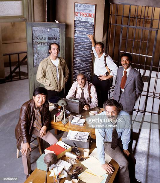 MILLER cast gallery 1/23/75 Barney Miller sprung from a pilot that aired as a special on Walt Disney Television via Getty Images in 1974 called The...