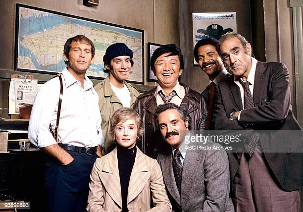 MILLER cast gallery 1/23/75 'Barney Miller' sprung from a pilot that aired as a special on ABC in 1974 called 'The Life and Times of Captain Barney...