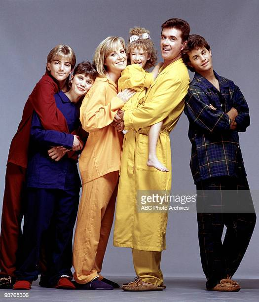 PAINS cast gallery Season Five 1/1/90 Jeremy Miller Tracey Gold Maggie Ashley Johnson Alan Thicke Kirk Cameron